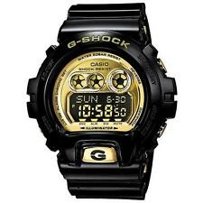 Mens Casio G-Shock Black Rubber Chronograph Alarm Sport Watch GDX6900FB-1