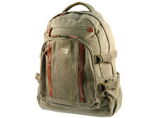 Troop London TRP 0257 Large Laptop Backpack Brown