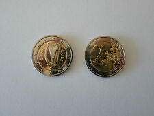 GENUINE IRISH CURRENCY 2 EURO €2 COIN EIRE CELTIC HARP FROM IRELAND LUCKY GIFT