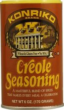 KONRIKO CREOLE SEASONING WHEAT & GLUTEN FREE spice free New Orleans recipe cajun