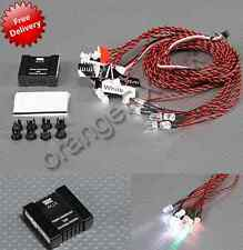 RC Scale Aircraft Navigation Lamp Set LED Lighting System NAV Lights orangeRX UK