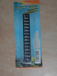 Liquid Crystal Aquarium Fish Tank Thermometer Strip Digital