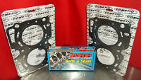 PAIR of Cometic Head Gasket C4261-040 93MM .040 & ARP 260-4701 for Subaru EJ20GN