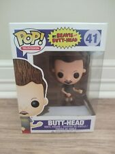 Funko Pop! Television Butt-head # 41 Vaulted with hardcase!