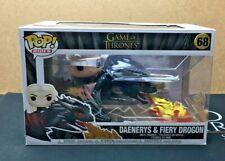 Daenerys & Fiery Drogon - 68 Game Of Thrones (Funko POP!) Ride Vinyl Figure