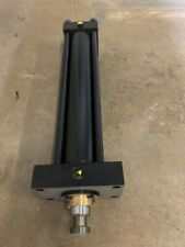 """New listing Parker 4"""" bore X 18"""" stroke hydraulic cylinder 3000 Psi series 2H"""