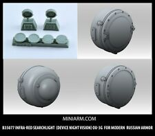 1/35 MINIARM B35077 Infra-red searchlight night vision OU-3G Modern Russian Armo