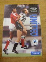 02/01/1993 Newcastle United v Port Vale [FA Cup] (Creased). Footy Progs/Bobfrank