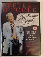 Jeffrey Bernard Is Unwell (DVD, 2000) Peter O'Toole (Actor, Director, Producer)