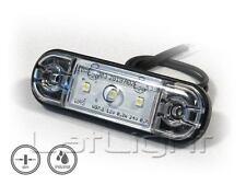 6x LED Positionsleuchten extra dünn Umrissleuchte LKW Positionslicht 12 24 Volt