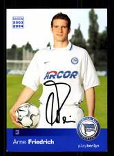 Arne Friedrich Autogrammkarte Hertha BSC Berlin 2003-04 Original + A 185765