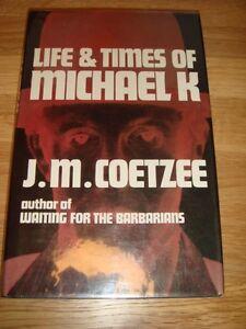 J M COETZEE + LIFE & TIMES OF MICHAEL K + SIGNED 1ST