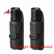 2pcs Rotatable Belt Clip Holster for Fenix PD35 PD32 PD12 TK22 TK32 Flashlight