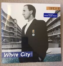 """Factory Sealed -PETE TOWNSHEND """"White City"""" Orig 1985 Release w/Hype Stkr-MINT"""