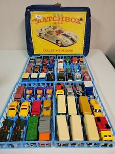 Matchbox 1/64 Diecast Collection Lot with Collector Case