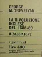 Gabbiani n° 15 Trevelyan - La rivoluzione inglese del 1688-89 -1964