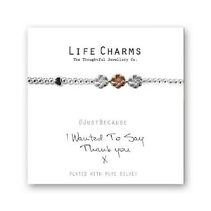 Life Charms I Wanted To Say Thank You Bracelet