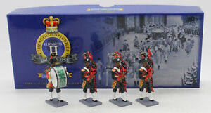 W BRITAINS COLLECTORS CLUB 40305 PAKISTAN ARMY PIPES & DRUMS SET 2 (UV9)