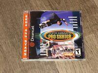 Tony Hawk Pro Skater Sega Dreamcast Complete CIB Tested Mint Disc Authentic