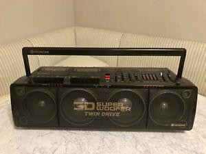 Hitachi 3D80 boombox