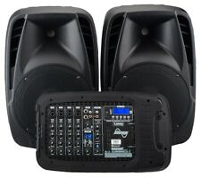 Laney AH2500D Portable PA System with two Microphones and Bluetooth