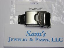 Seiko Sport StainlessSteel 20mm  Push Button Clasp-Buckle V172-0AC0 #K06W11SA00C