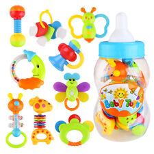 9 stk Baby Spielzeug Motorik Rasseln Greiflinge Rassel Babyrassel DE