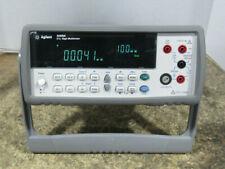 Agilent 34405a 55 Digit Dual Display Benchtop Digital Multimeter No Test Leads