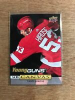 TARO HIROSE 2019-20 UD Series 1 Canvas Young Guns #C110- Detroit Red Wings