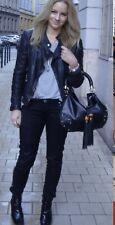 "GUCCI BLack Leather ""Indy"" Top Handle Medium Crossbody Tassel Bag. EUC $2350"