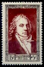 GRANDS HOMMES : TALLEYRAND, Neuf ** = Cote 10 € / Lot Timbre France 895