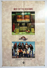THE DOOBIE BROTHERS – BEST OF – ORIGINAL PROMOTIONAL POSTER- VERY RARE – 1976