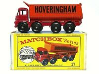 Matchbox Lesney No.17d Foden 'Hoveringham' 8 Wheel Tipper In Type D2 Series Box