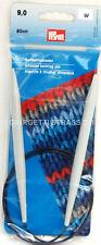 FERRI CIRCOLARI 9,00 Filo Flessibile 80 cm 80cm per Maglia Alluminio lana 211180