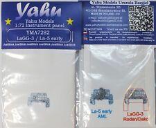 Yahu Models YMA7282 1/72 PE LaGG-3 & La-5 early Instrument Panel AML Roden