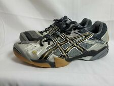 Asics Gel Domain EY803 Indoor Court Volleyball Shoe sz 11.5 Grey Silver