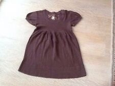 Old Navy Short Sleeve Brown Tunic Knitted Top Lightweight (L)