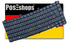 Orig. QWERTZ Tastatur Acer TravelMate 3210 3220 4150 4180 Series Schwarz DE NEU