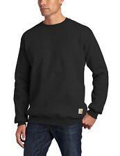 Carhartt Men's Crewneck Midweight Sweatshirt K124 Black Large