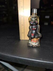 Vintage Glass Shaped Kewpie Doll Betty Boop Theme Miniature Liquor Btl. Empty
