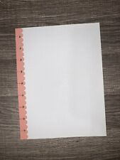 Happy Planner 20 Sheet CLASSIC Filler Paper- Salmon Pink Dotted Grid