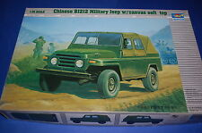 Trumpeter 02302 - Chinese BJ212 Military Jeep w/Canvas Soft Top  scala 1/35