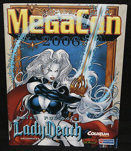 MegaCon Program - Lady Death - Owned by Nick Cardy (Grade VF/NM) 2006