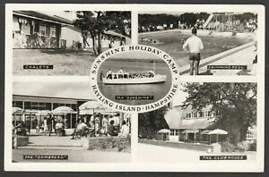 Postcard Hayling Island nr Portsmouth Hampshire 1962 Sunshine Holiday Camp RP