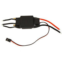 60A Brushless Water Cooling Electric Speed Controller ESC & BEC RC Boat X5I6 BT