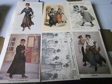Post Archiv Edition 6 113 Frauen im Postdienst Postkartenserie