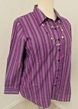 Roaman's Vertical Stripes Multi-color Sz 2X 28W Top NWOT 100