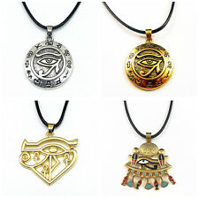 Ägypten Auge des Horus Ankh Horusauge Udjat Amulett Anhänger Halsketten Kette