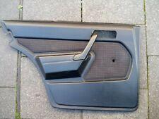 Mercedes Türverkleidung Türpappe W201 190 E D Fahrerseite hinten bis 09/88  schw