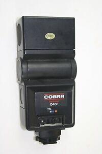 Cobra D400 Dedicated Automatic Flash - Canon/Olympus/Pentax/Minolta/Nikon/Rioch